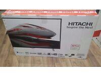 "Hitachi 48"" Full 1080p HD Smart Freeview LED TV £260 BRAND NEW !!"