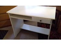 White (Ikea) desk - v.g.c.