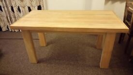 New solid wood dining table.(1650X830)