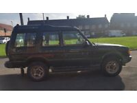 Land Rover discovery TDI limited edition 3door 7seater 12mths MOT.