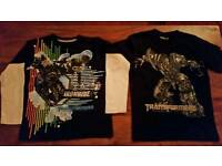 Transformers clothes bundle age 8-9/10-11 Revenge of the Fallen/Dark of the Moon