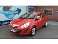 VAUXHALL CORSA 1.3 CDTi Active (red) 2012