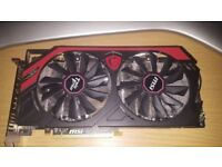 Gaming PC Graphics Card - MSI AMD R9 280X 3GB