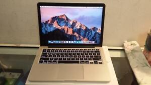 "2015 13"" Macbook Pro with Retina Display, Intel Core i5 2.7Ghz Processor, Webcam and Wireless for sale"
