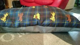 Massive soft dog bed