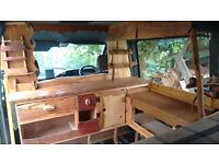 mercedes 208 camper - trusty and beautiful