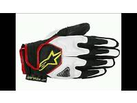 Alpinestars scheme motorcycle gloves xl