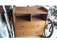 IKEA Leksvik solid pine chest of drawers