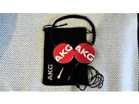 AKG Y50 Headphones with soft carry pouch in Excellent Condition.