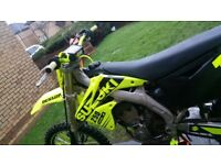 One off RMZ 250/290cc
