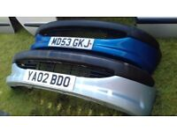PEUGEOT 206 FRONT BUMPERS CHOICE OF 3
