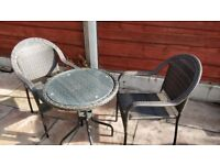 Garden Furniture. Patio Table and chairs