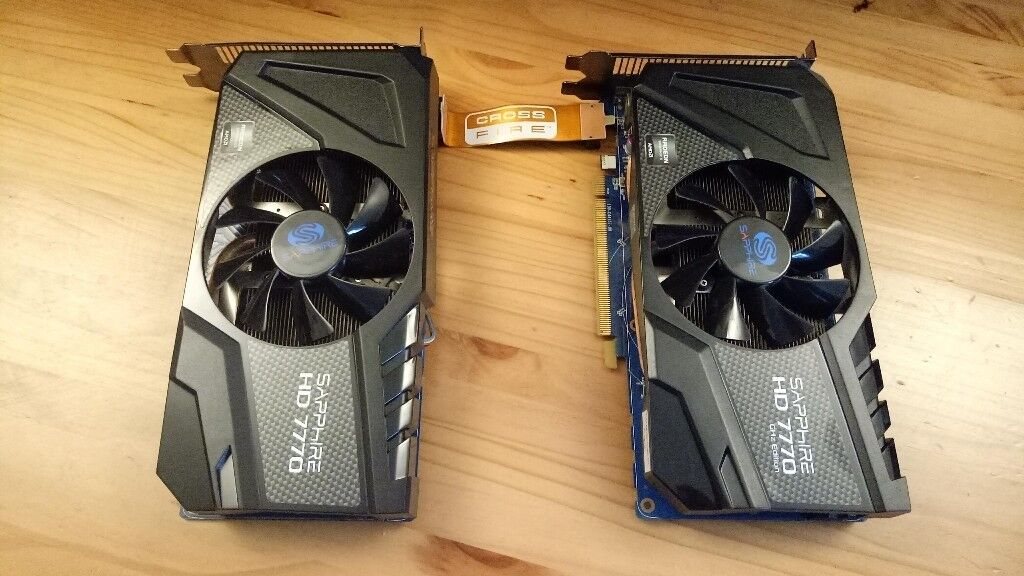 Radeon 7770 Saphire 1GB x2 Crossfire