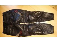 mens rst leather trousers