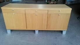 Ikea Light Oak Sideboard