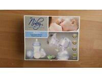 Nuby Natural Touch Rhythm Dual Action Electric Breast Pump Set