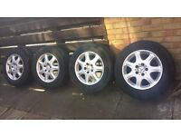 "16"" Mercedes S Class W220 Alloy Wheels + Tyres_Other car parts available"