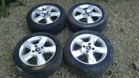 Ford fiesta mk6 alloy wheels 15' (195 50 r 15)
