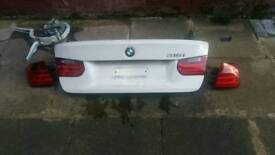 Bmw 3 series f30 f31 bootlid with lights