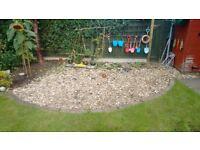 Free ornamental garden stones
