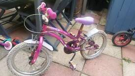 "girl bike ..16 ""wheel"