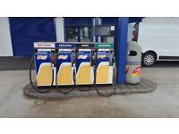 Gilbarco Euroline 4 product / 8 nozzel pumps