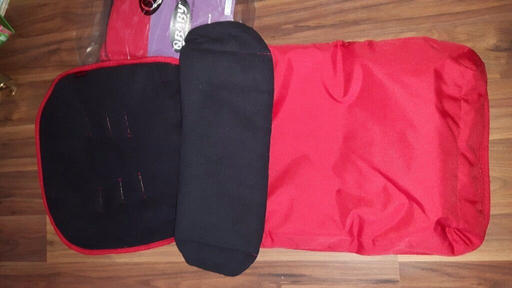 OBaby Red Cosy Toes X 2 still in packaging never been used. Ideal for double buggy.