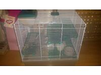 Hamster with Cage and extras