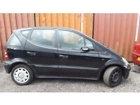 MERCEDES A CLASS 2003 SOLD FOR SPARES OR REPAIRS