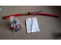 Bicycle tow bar for attaching childrens bike to adult. Good condition