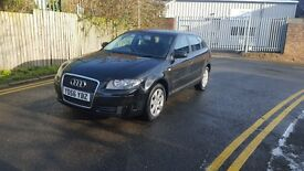 AUDI A3 SE TDI SPORTBACK FULL SERVICE TOP CONDITION 12 MONTHS MOT NATIOWIDE WARRANTY IS AVAILABLE