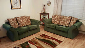 2 & 3 seater sofa set VGC inc delivery*