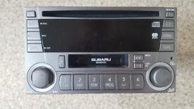 SUBARU IMPREZA WRX 2004 cd player stereo