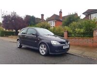 2003 Vauxhall Corsa 1.4 SRi 16v 3 Door Black Colour Long MOT Not 1.2 SXi