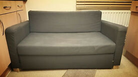 Two-seat sofa-bed, bargain for £35