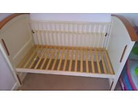 Big solid cot/toddler bed