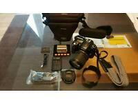 Nikon D90 DSLR 18-105mm lens+8GB+2nd battery+Case RRP: £1065