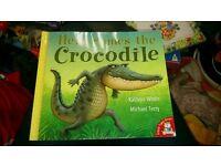 Here comes the crocodile book