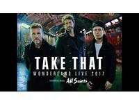 Take that tickets Carrow Road 15th June.