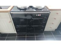 Aga 13 amp 2 oven cooker (BEAUTIFUL BLACK)