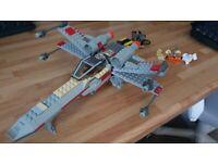 Vintage Lego star wars set 7140 X-Wing Fighter