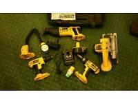 Dewalt 18 volt tool set / combo kit