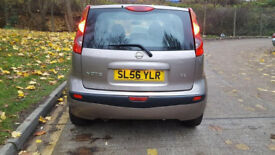 2006 56 NISSAN NOTE 5 DOOR AUTOMATIC