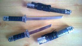 stunnning decotive display swords