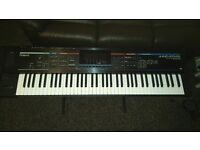 Roland Juno Stage with stand and gig bag