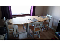 Brand New*** Ikea Table and Chairs RRP£320