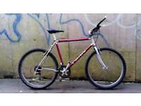 Bargain!! Adults unisex Carrera krakatoa 21 speed 22 inch frame 26 inch wheels retro mountain bike