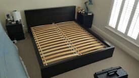 SOLD Ikea Malm bed frame - Black (no mattress)