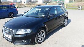 Black Audi A3 1.9 TDI Diesel 3499 ono