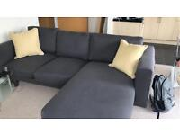 NORSBORG 3-seat sofa with Chaise Lounge - IKEA RRP £625.00
